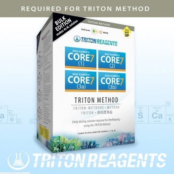 Triton Core7 Reef supplement Pack pour 4X1L